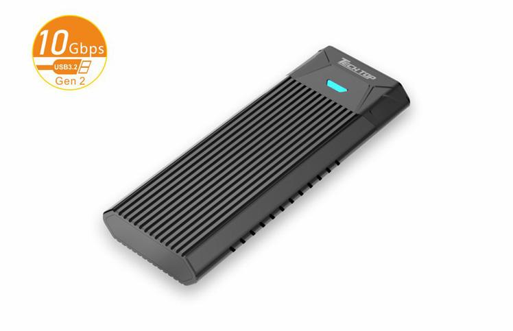 S1203C: USB3.2 Gen2 Type-C to M.2 SSD Suport both PCIe/NVMe & SATA6G Aluminum Toolless Enclosure
